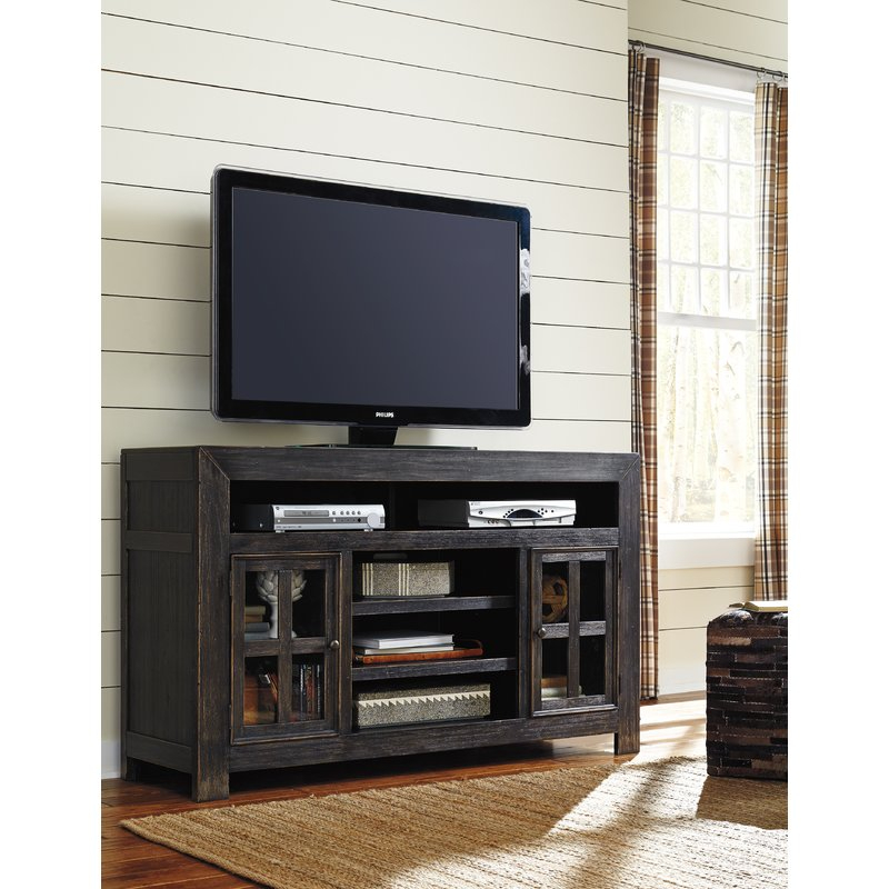 "Famous Wyatt 68 Inch Tv Stands Within Signature Designashley Tv Stand For Tvs Up To 65"" & Reviews (Image 9 of 25)"