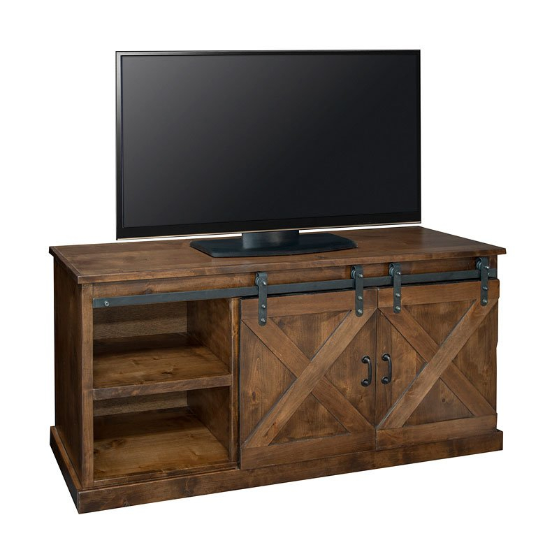 Farmhouse 66 Inch Tv Console (Aged Whiskey)Legends Furniture Intended For Recent Noah Rustic White 66 Inch Tv Stands (View 5 of 11)