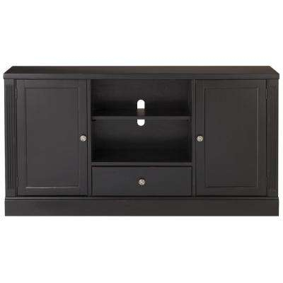Fashionable Abbot 60 Inch Tv Stands In Mission – Tv Stands – Living Room Furniture – The Home Depot (Image 4 of 25)