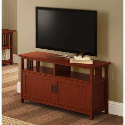 Fashionable Abbot 60 Inch Tv Stands Pertaining To Mission – Tv Stands – Living Room Furniture – The Home Depot (View 21 of 25)