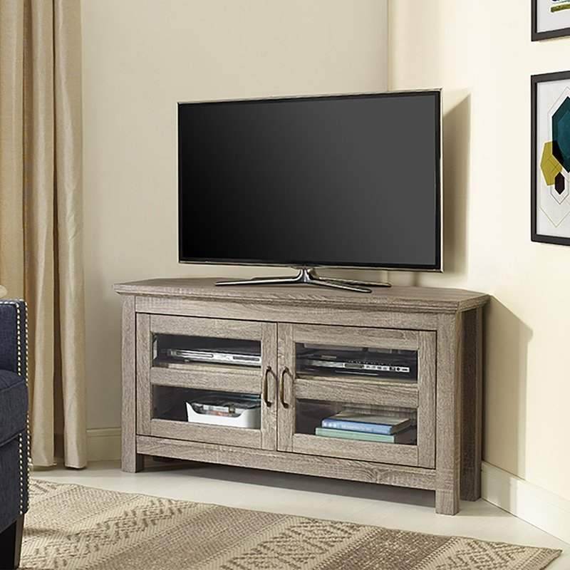 Fashionable Edwin Grey 64 Inch Tv Stands Throughout Grey Tv Stand Tv Stands & Entertainment Centers You'll Love (Image 6 of 25)
