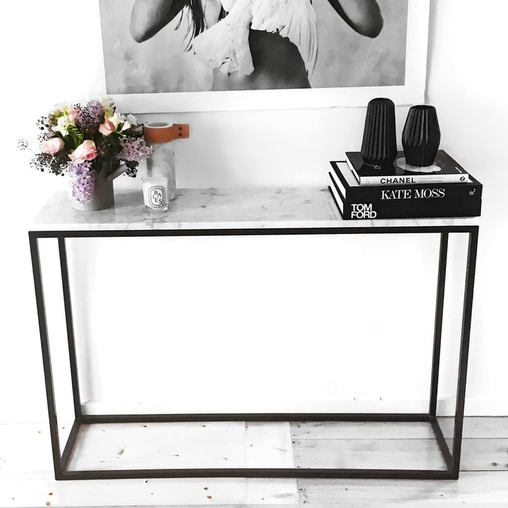 Fashionable Elke Marble Console Tables With Brass Base For Elke Marble Console Table With Brass Base Reviews Crate And Barrel (Image 14 of 25)