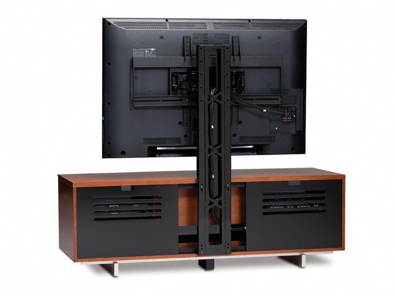 Fashionable Techlink Echo Ec130Tvb Tv Stand In Bdi Arena 9970 Tv Mount #swivelstand (Image 5 of 25)