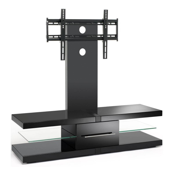 "Fashionable Techlink Echo Ec130Tvb Tv Stand With Regard To Tech Link Echo Ec130Tvb Av Rack For Up To 60"" Tvs – Black (Image 7 of 25)"