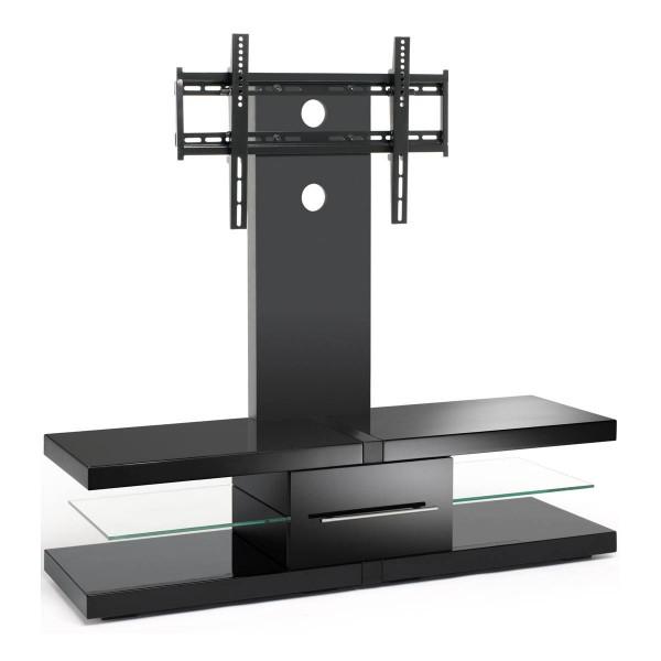 "Fashionable Techlink Echo Ec130Tvb Tv Stand With Regard To Tech Link Echo Ec130Tvb Av Rack For Up To 60"" Tvs – Black (Image 7 of 25)"