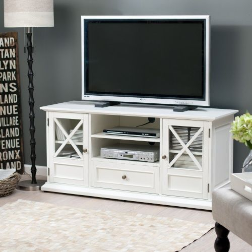 Favorite Cheap White Tv Stands Throughout 19 Amazing Diy Tv Stand Ideas You Can Build Right Now (Image 9 of 25)