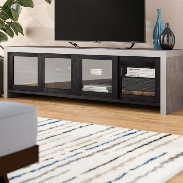 Favorite Edwin Black 64 Inch Tv Stands Within Assembled Durable Tv Stand (View 10 of 25)