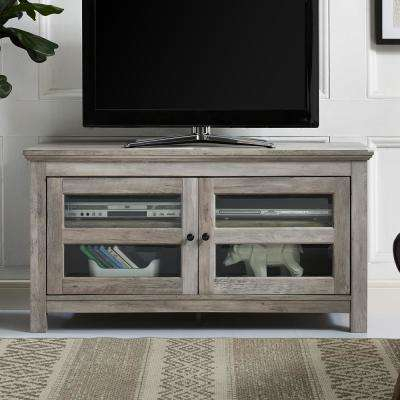 Favorite Kenzie 72 Inch Open Display Tv Stands Pertaining To Gray – Tv Stands – Living Room Furniture – The Home Depot (Image 3 of 25)