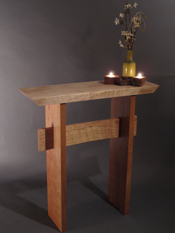 Favorite Layered Wood Small Square Console Tables Intended For Pinnessa Dzafic On Cute Furniture And Ext (Image 7 of 25)