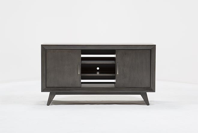 Favorite Melrose Titanium 65 Inch Lowboy Tv Stands Intended For Abbott Driftwood 60 Inch Tv Stand (Image 9 of 25)