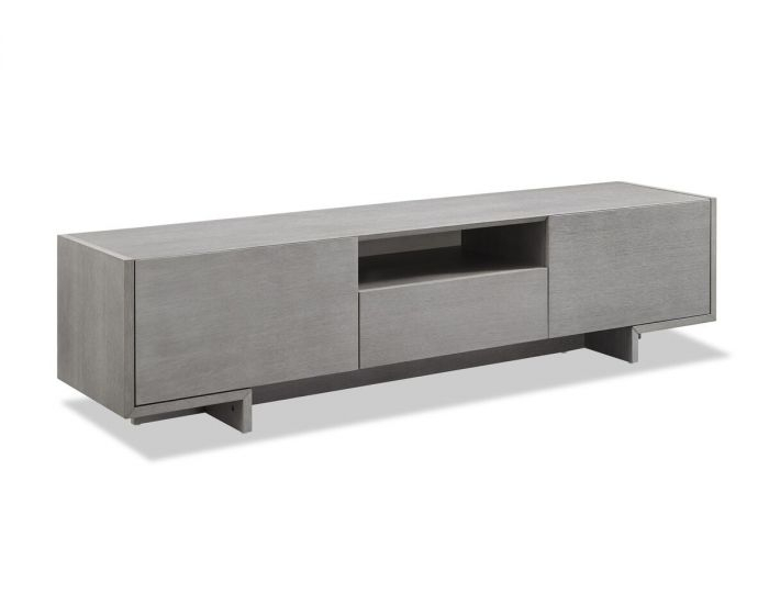 Favorite Noah 75 Inch Tv Stands For Plateau Decor50Bb Wood And Glass 50 In (View 10 of 25)