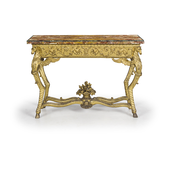 Favorite Roman Metal Top Console Tables Intended For Asta Furniture Ceramics Sculptures & Works Of Art14 November (View 25 of 25)