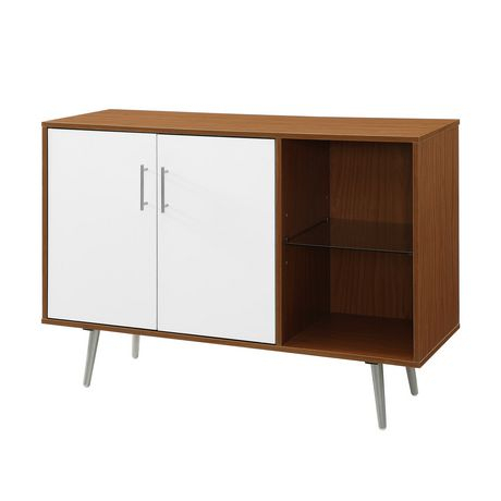 """Favorite Sideboard Tv Stands For Manor Park 44"""" Mid Century Modern Transitional Asymetrical Sideboard (Image 9 of 25)"""