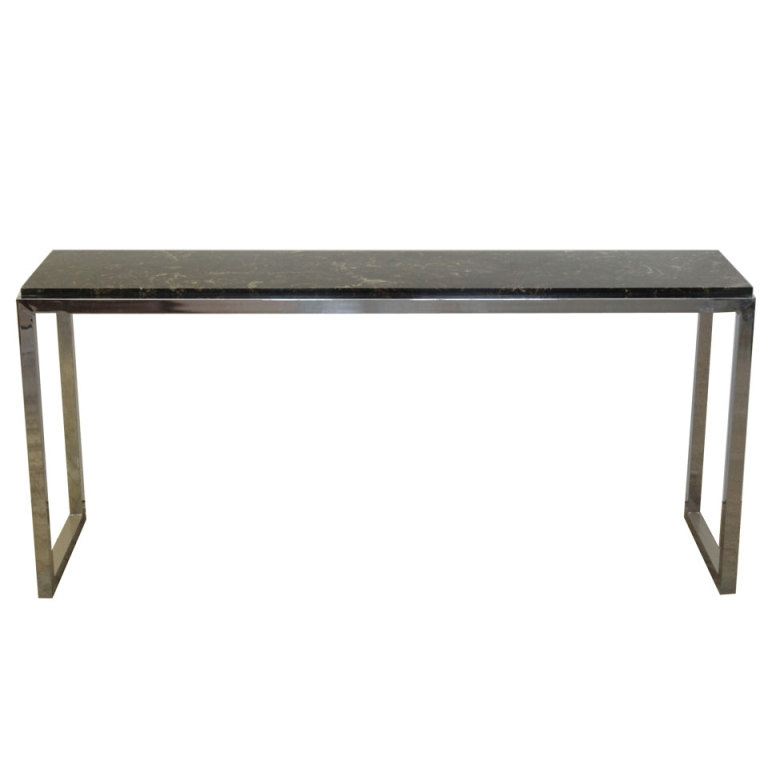 Favorite Silviano 84 Inch Console Tables Pertaining To Silviano 60 Console Table Decorist Intended For 84 Console Barnwood (Image 12 of 25)