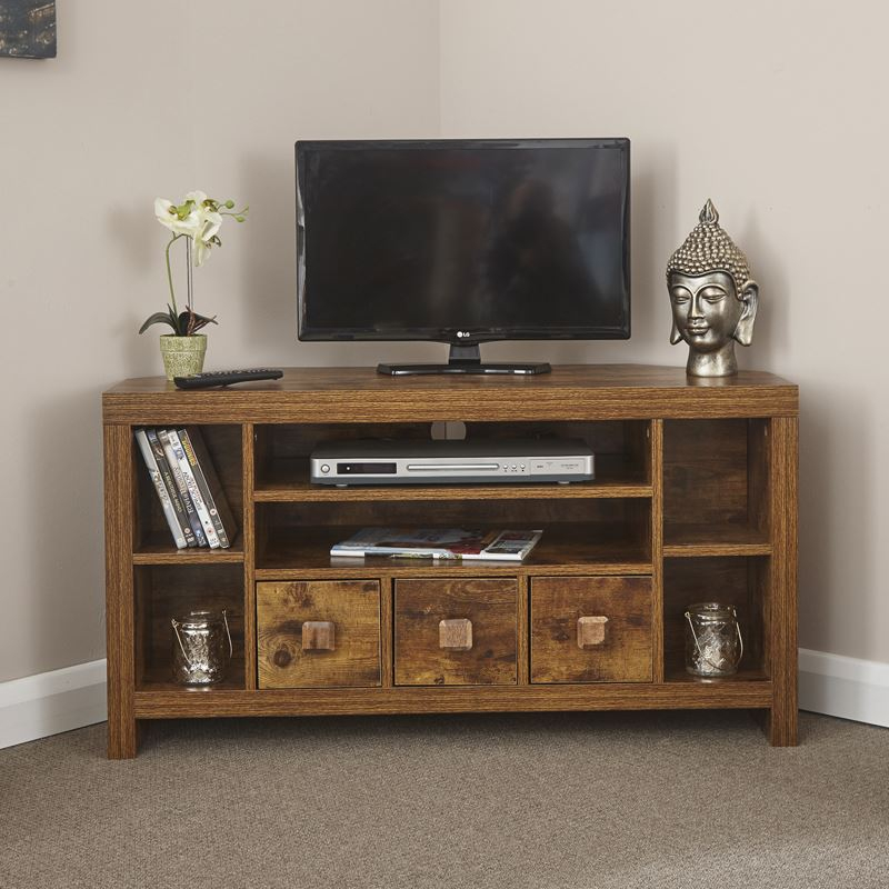 Favorite Wakefield 97 Inch Tv Stands Intended For Brown Entertainment Centers & Tv Stands (Image 7 of 25)