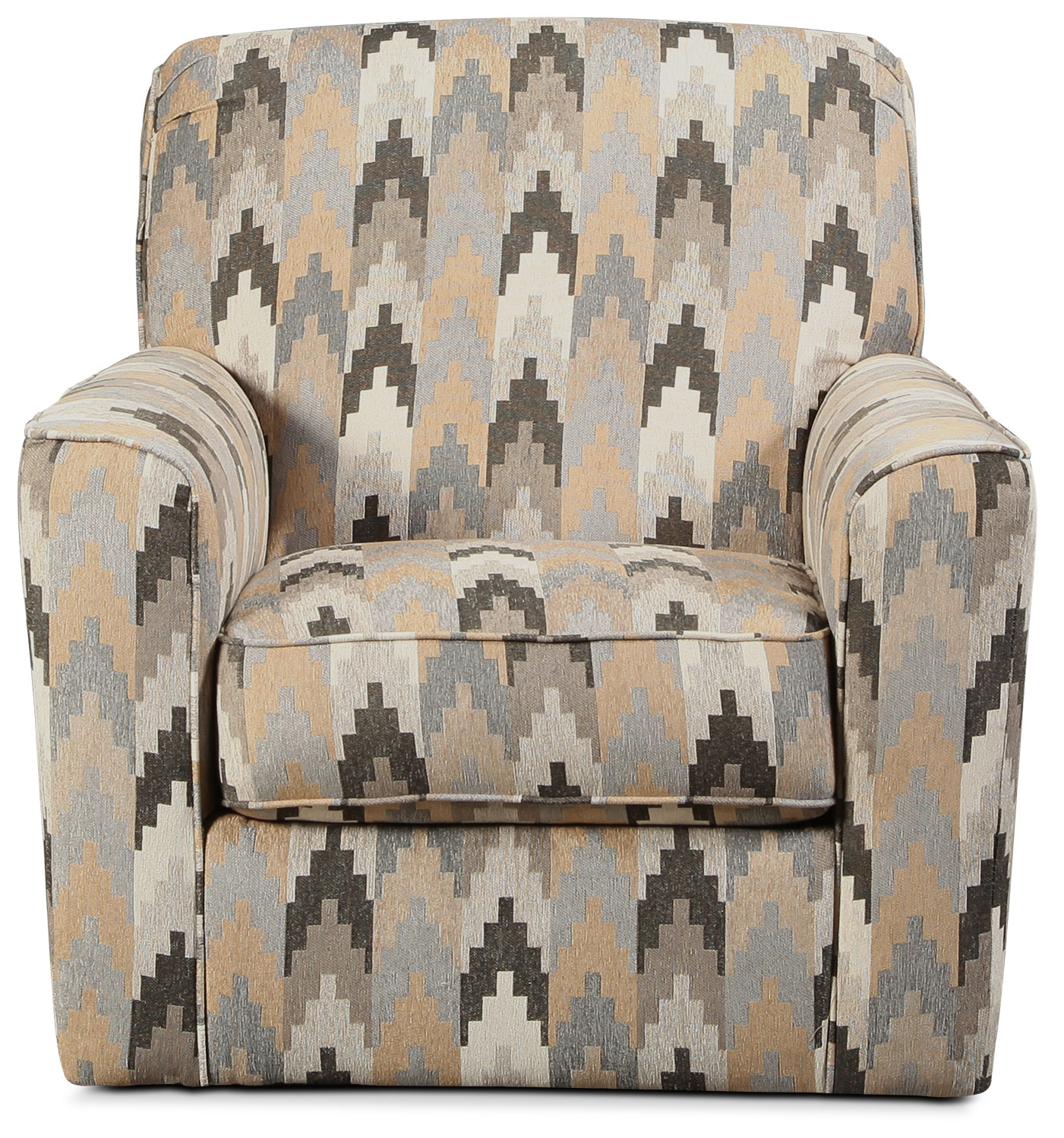 Ferron Swivel Accent Chair – Southwestern | With Sadie Ii Swivel Accent Chairs (View 17 of 25)