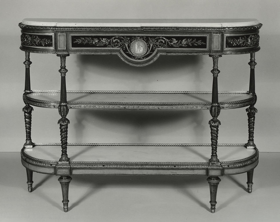 File:josiah Wedgwood – Console – Walters 6518 – Wikimedia Commons For Well Known Walters Media Console Tables (View 13 of 25)