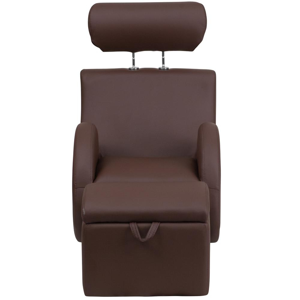 Flash Furniture Hercules Series Brown Vinyl Rocking Chair With for Hercules Chocolate Swivel Glider Recliners