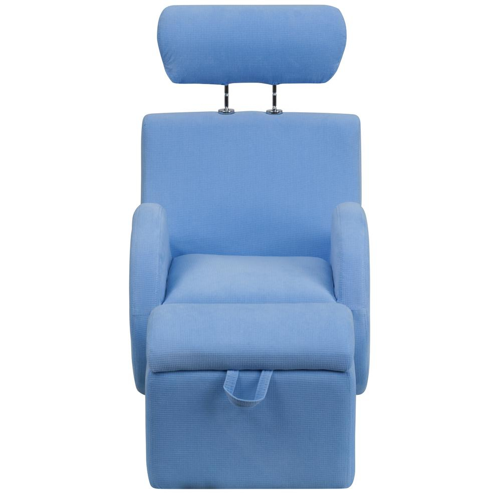 Flash Furniture Hercules Series Light Blue Fabric Rocking Chair With Intended For Hercules Grey Swivel Glider Recliners (View 9 of 25)