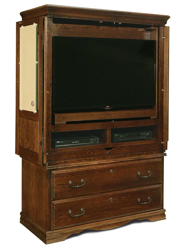 Flat Screen Tv Armoire (Photo 12 of 25)