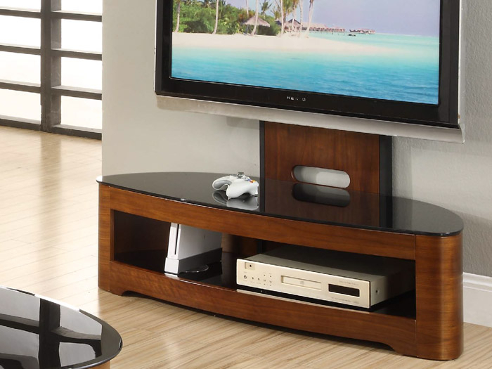 Forrest Furnishing Within Widely Used Cantilever Glass Tv Stand (Image 12 of 25)