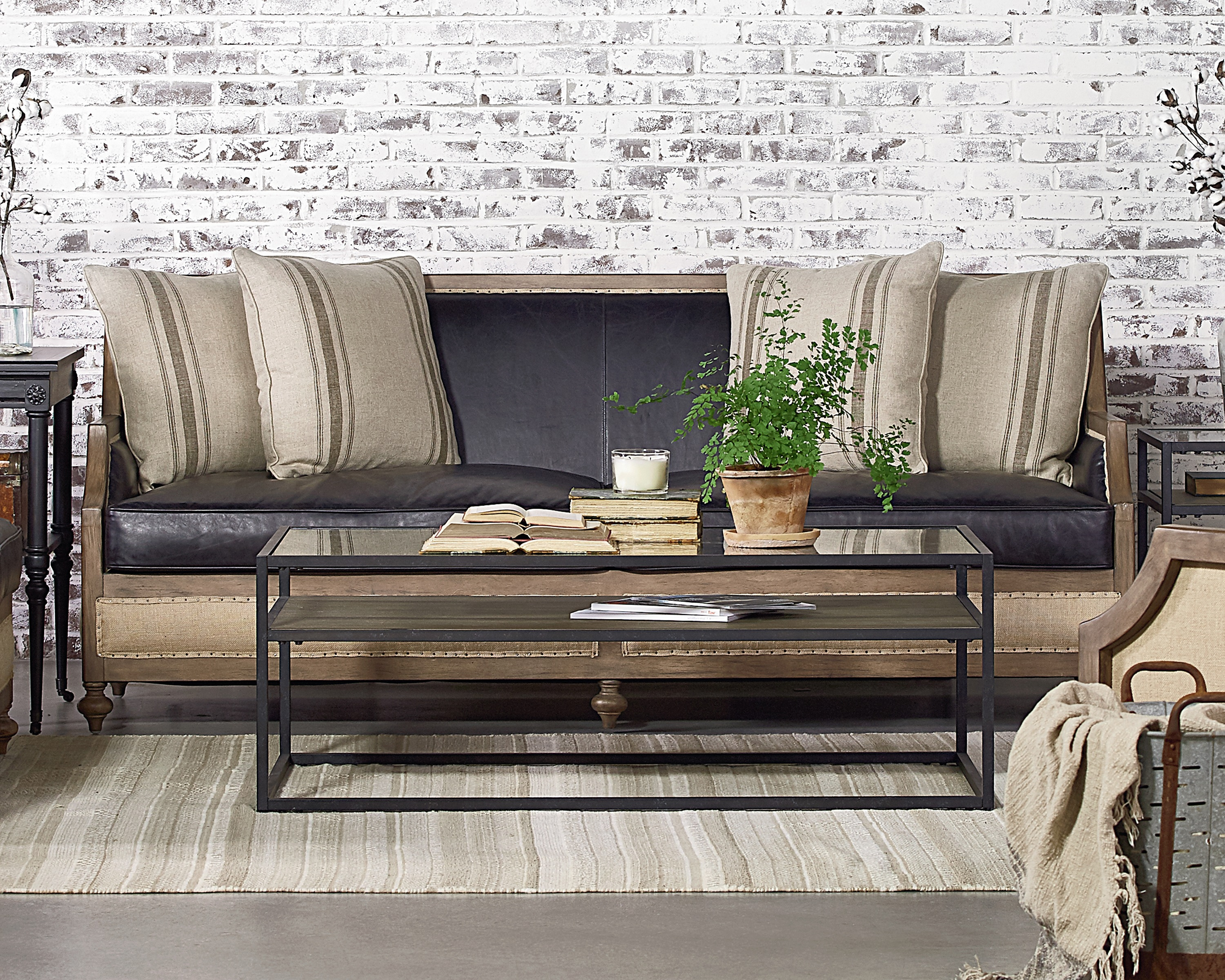 Foundation Sofa – Magnolia Home Throughout Magnolia Home Foundation Leather Sofa Chairs (Image 11 of 25)