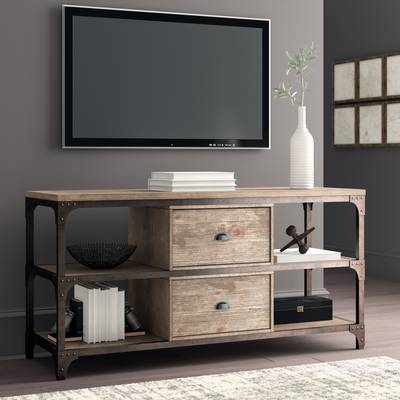 "Foundry Select Cecily Tv Stand For Tvs Up To 85"" & Reviews (Image 11 of 25)"