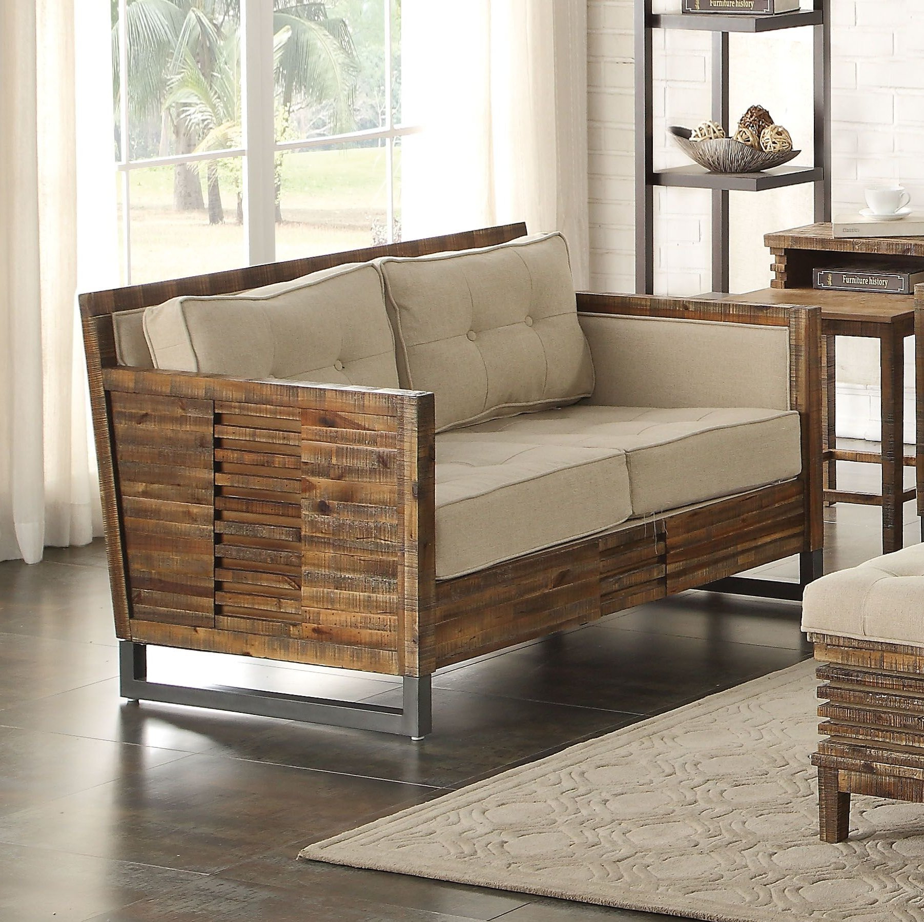 Foundry Select Rory Loveseat | Wayfair With Regard To Rory Sofa Chairs (Image 5 of 25)