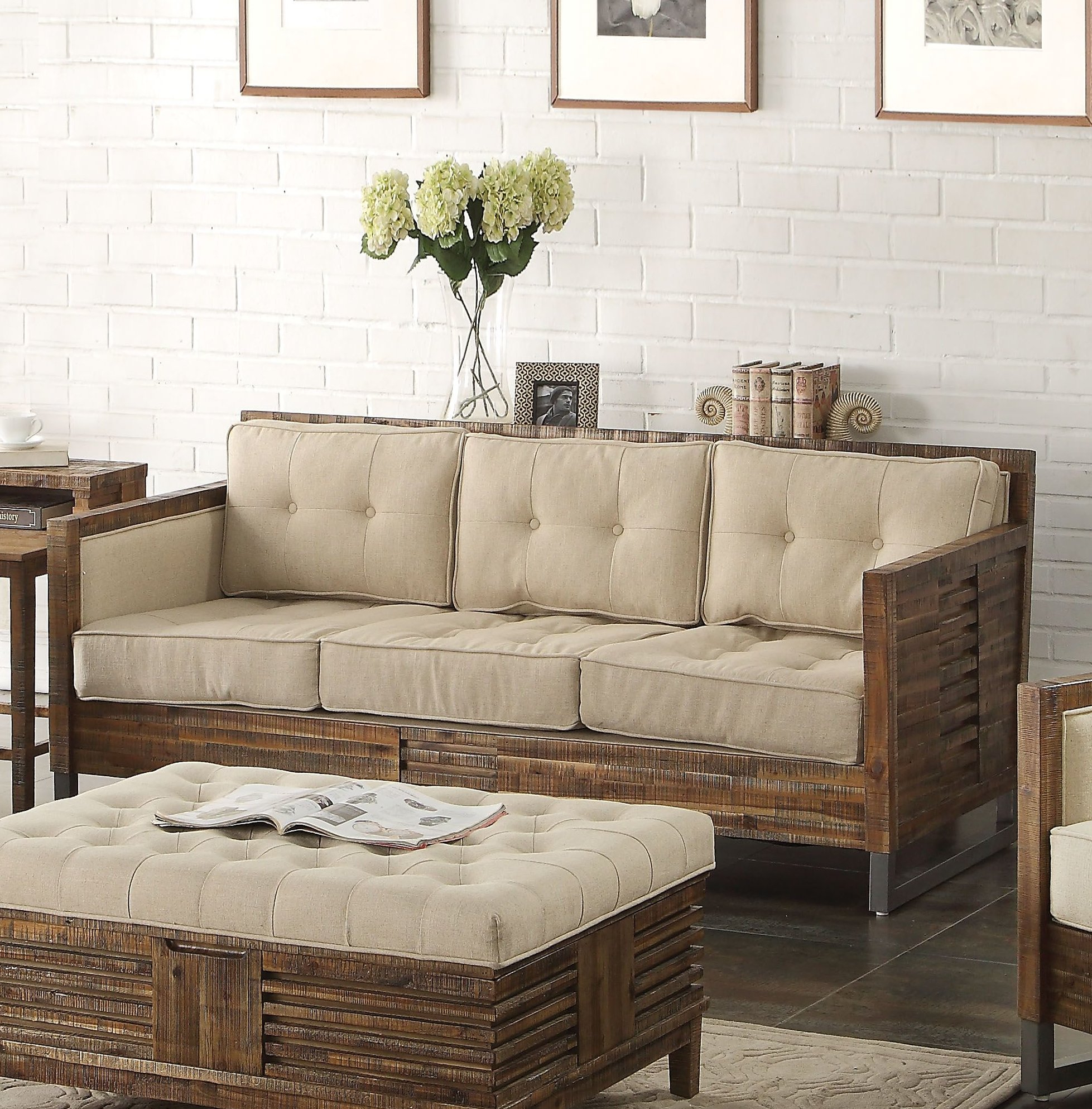 Foundry Select Rory Sofa | Wayfair With Regard To Rory Sofa Chairs (Image 7 of 25)