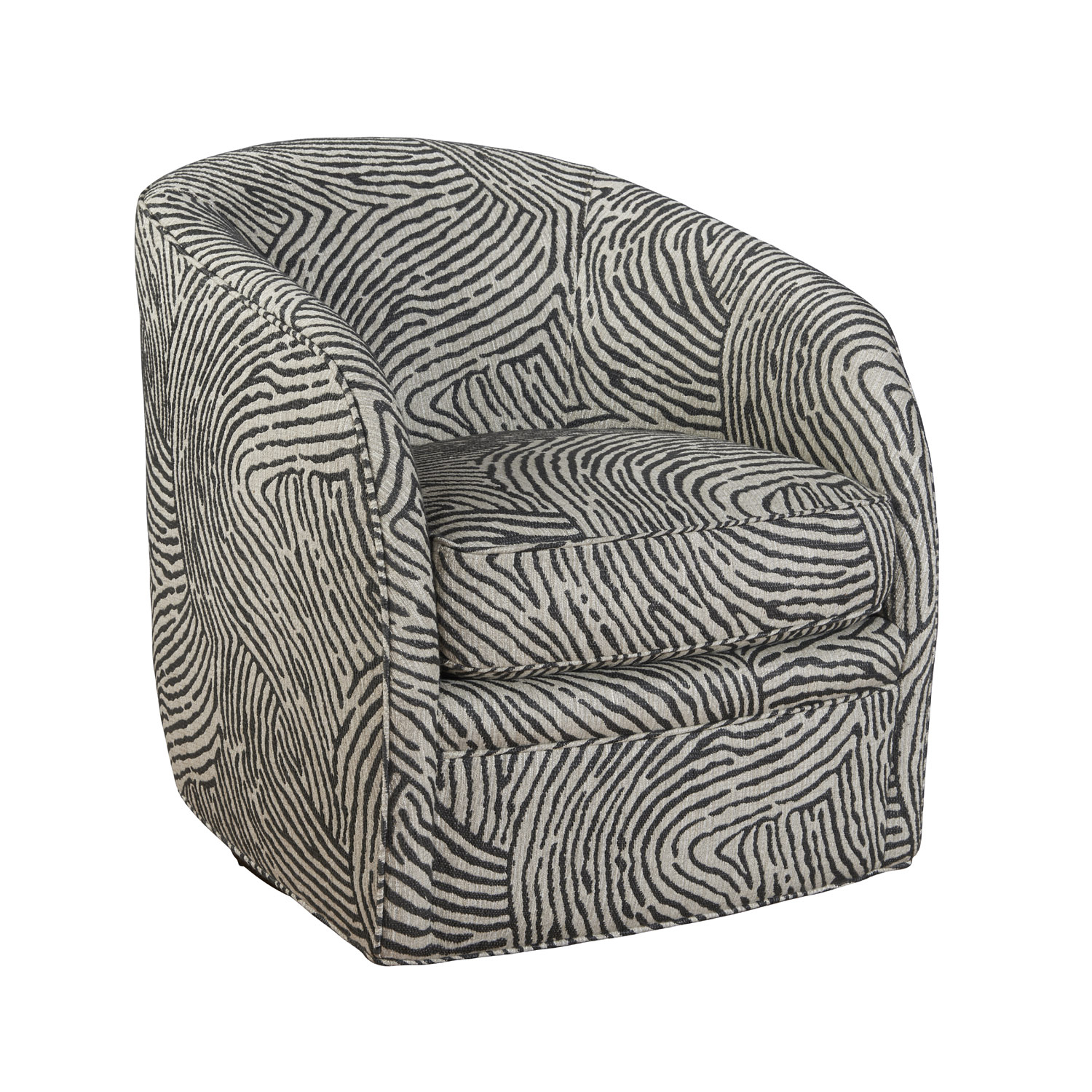 Francesca Swivel Chair – Sunniva Charcoal Within Charcoal Swivel Chairs (View 23 of 25)
