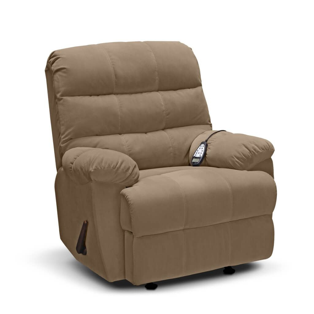 Furniture: Classy Rocker Recliner Chair Ideas With Espresso Leather Inside Espresso Leather Swivel Chairs (Image 15 of 25)