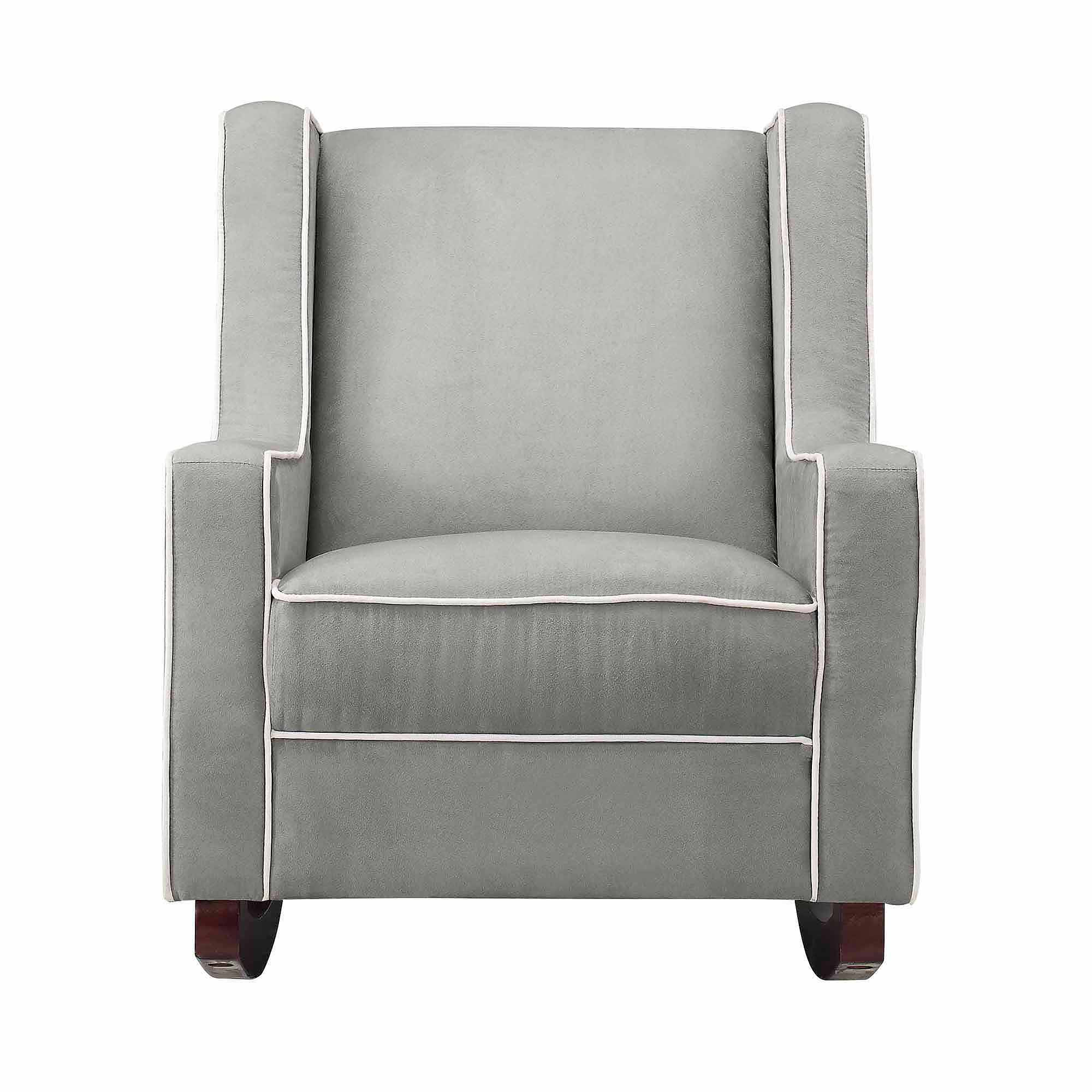Furniture: Magnificent Walmart Glider Rocker For Fabulous Home Regarding Abbey Swivel Glider Recliners (View 3 of 25)