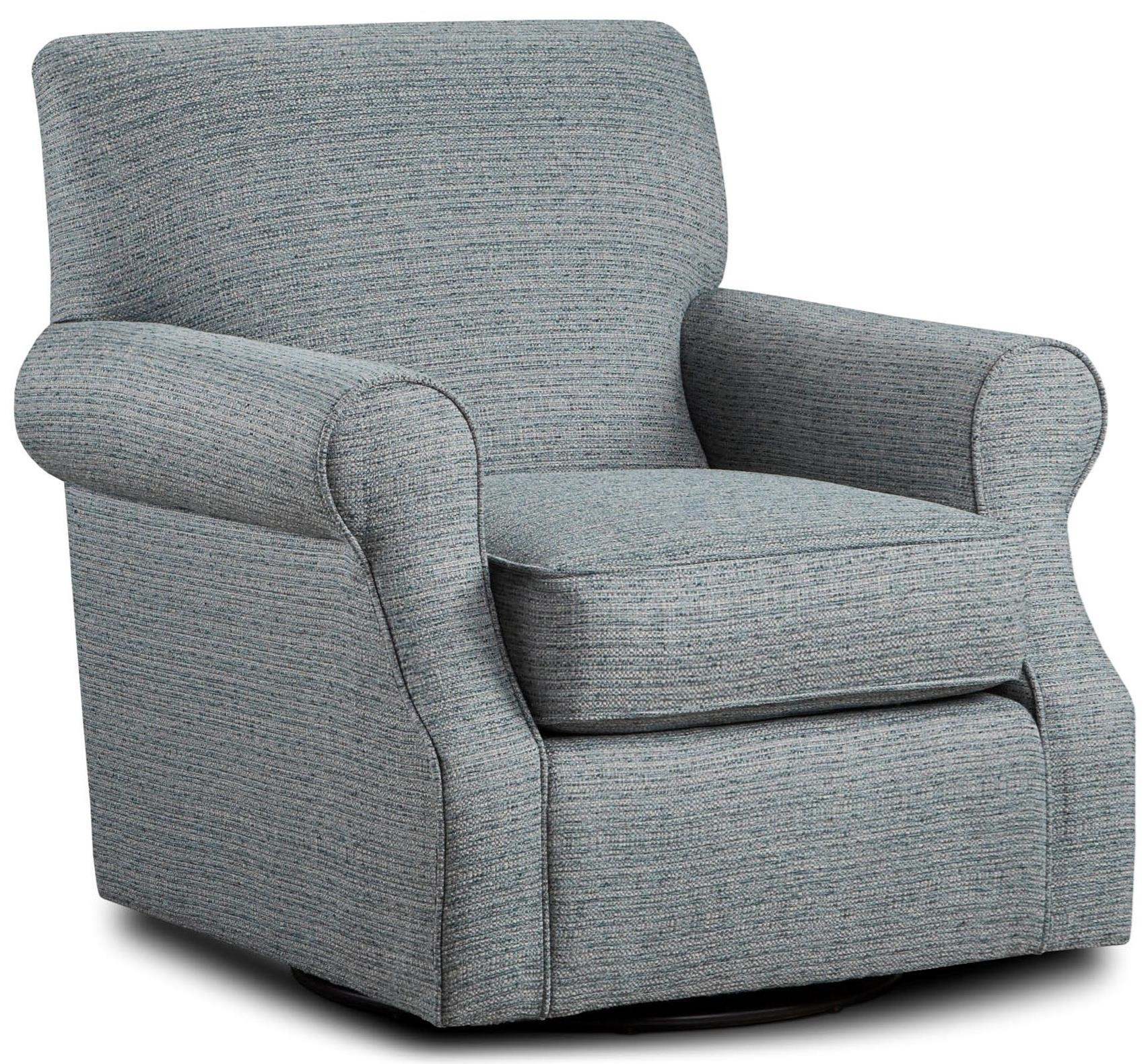Fusion Furniture 602 Swivel Accent Chair | Lindy's Furniture Company In Umber Grey Swivel Accent Chairs (View 5 of 25)
