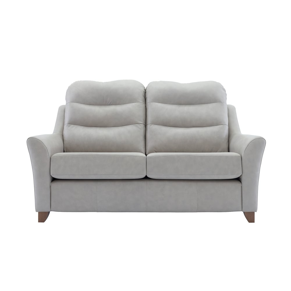 G Plan Tate Leather 2 Seater Sofa - Smiths The Rink Harrogate regarding Tate Ii Sofa Chairs