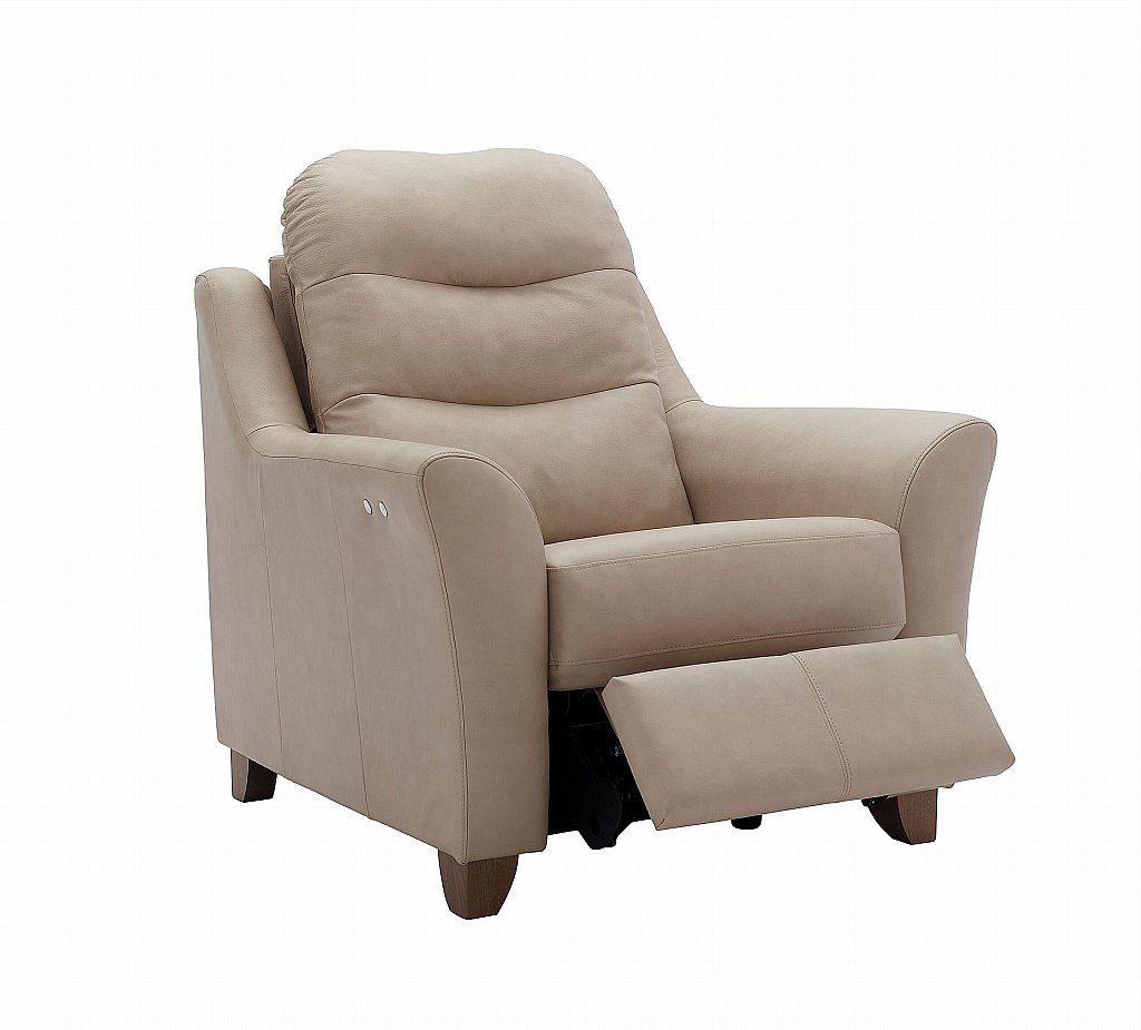 G Plan Upholstery Tate Leather Recliner Chair For Tate Arm Sofa Chairs (Image 8 of 25)