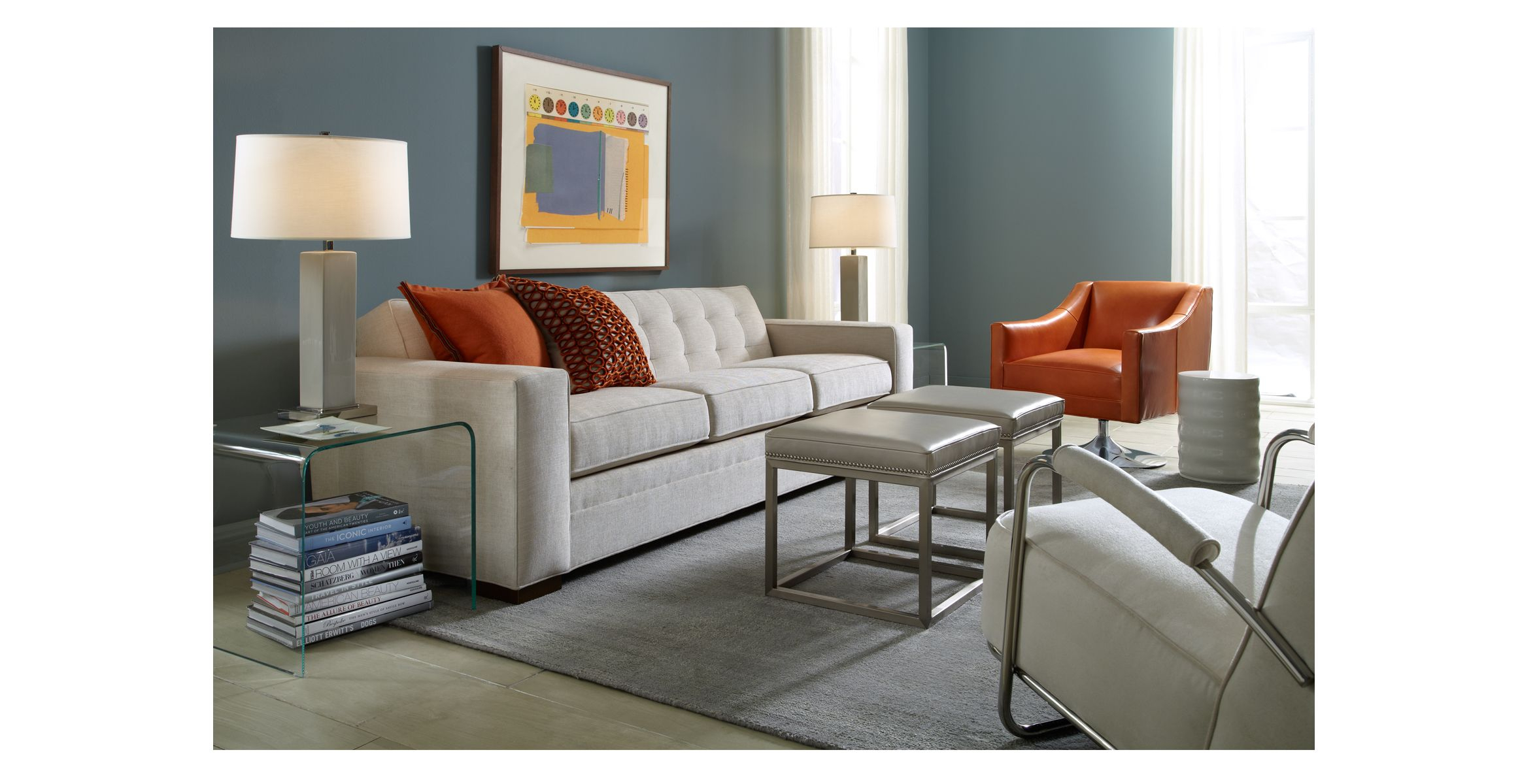 Gabriel Ii Collection – Mitchell Gold + Bob Williams Like Back Of With Mitchell Arm Sofa Chairs (Image 8 of 25)