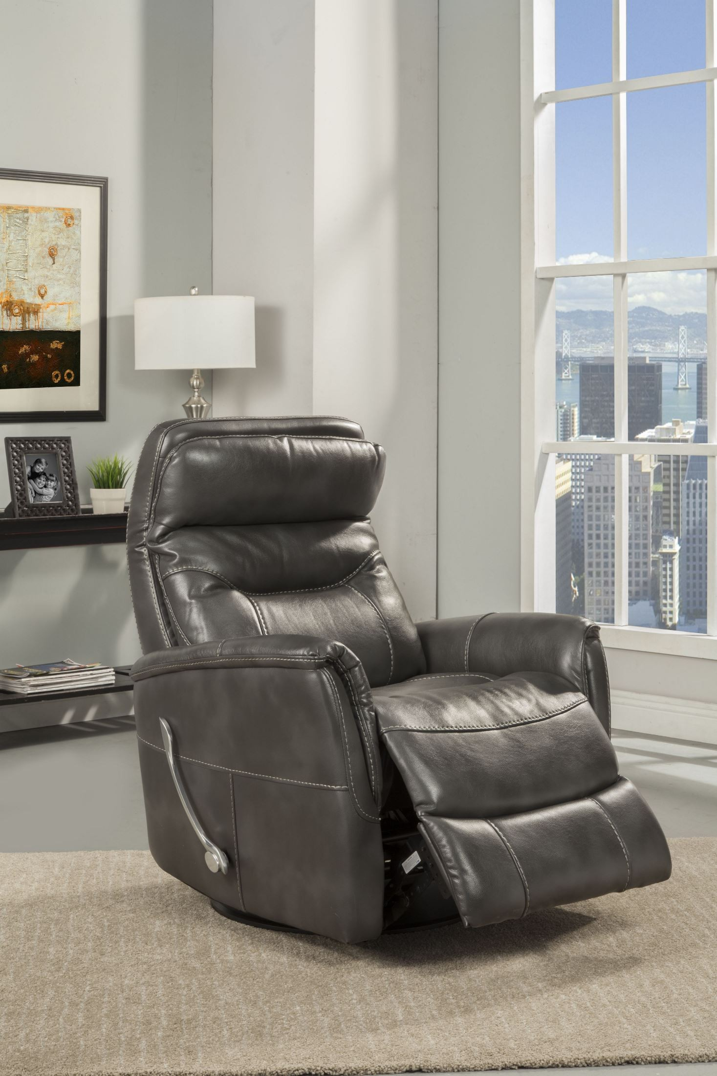 Gemini Flint Swivel Glider Recliner From Parker Living | Coleman Pertaining To Hercules Oyster Swivel Glider Recliners (View 20 of 25)