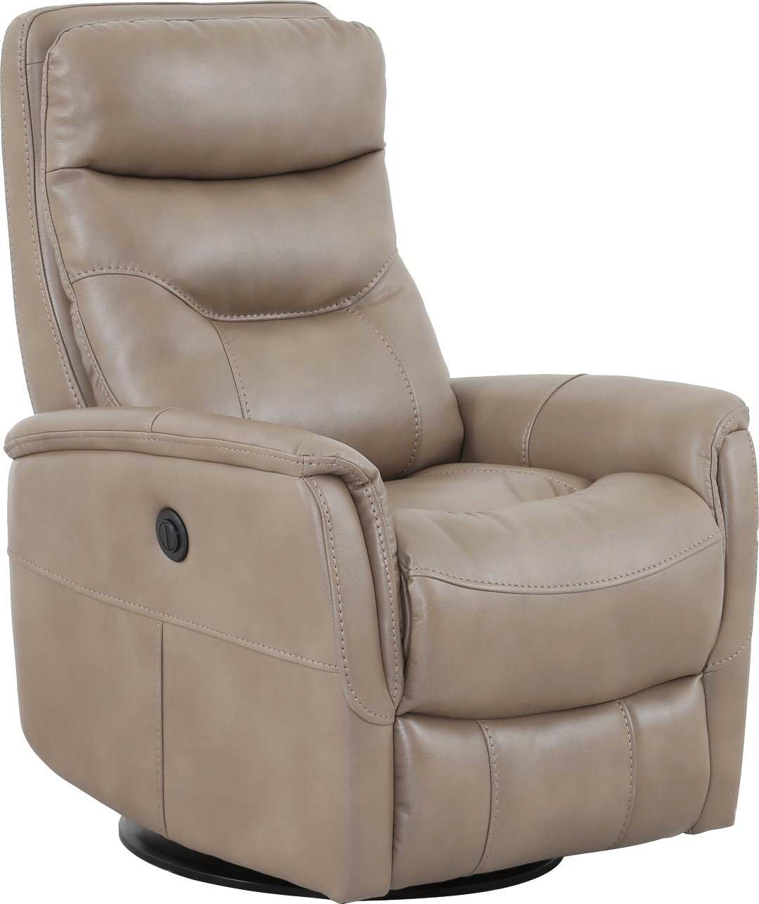 Gemini Linen Swivel Glider Power Recliner With Articulating Headrest In Hercules Oyster Swivel Glider Recliners (View 11 of 25)