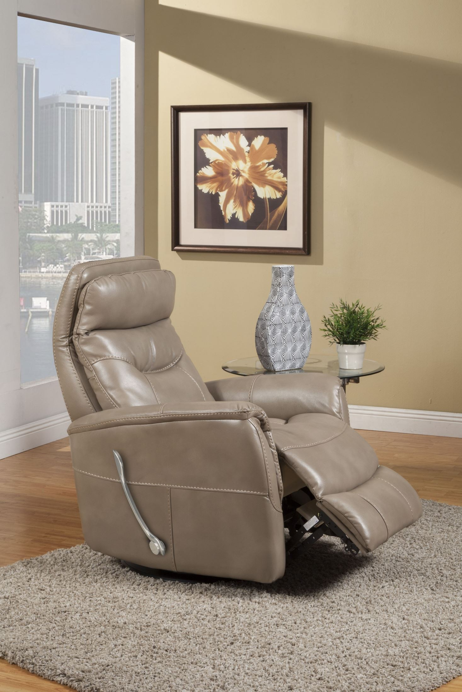Gemini Linen Swivel Glider Recliner From Parker Living | Coleman In Hercules Oyster Swivel Glider Recliners (Photo 23 of 25)