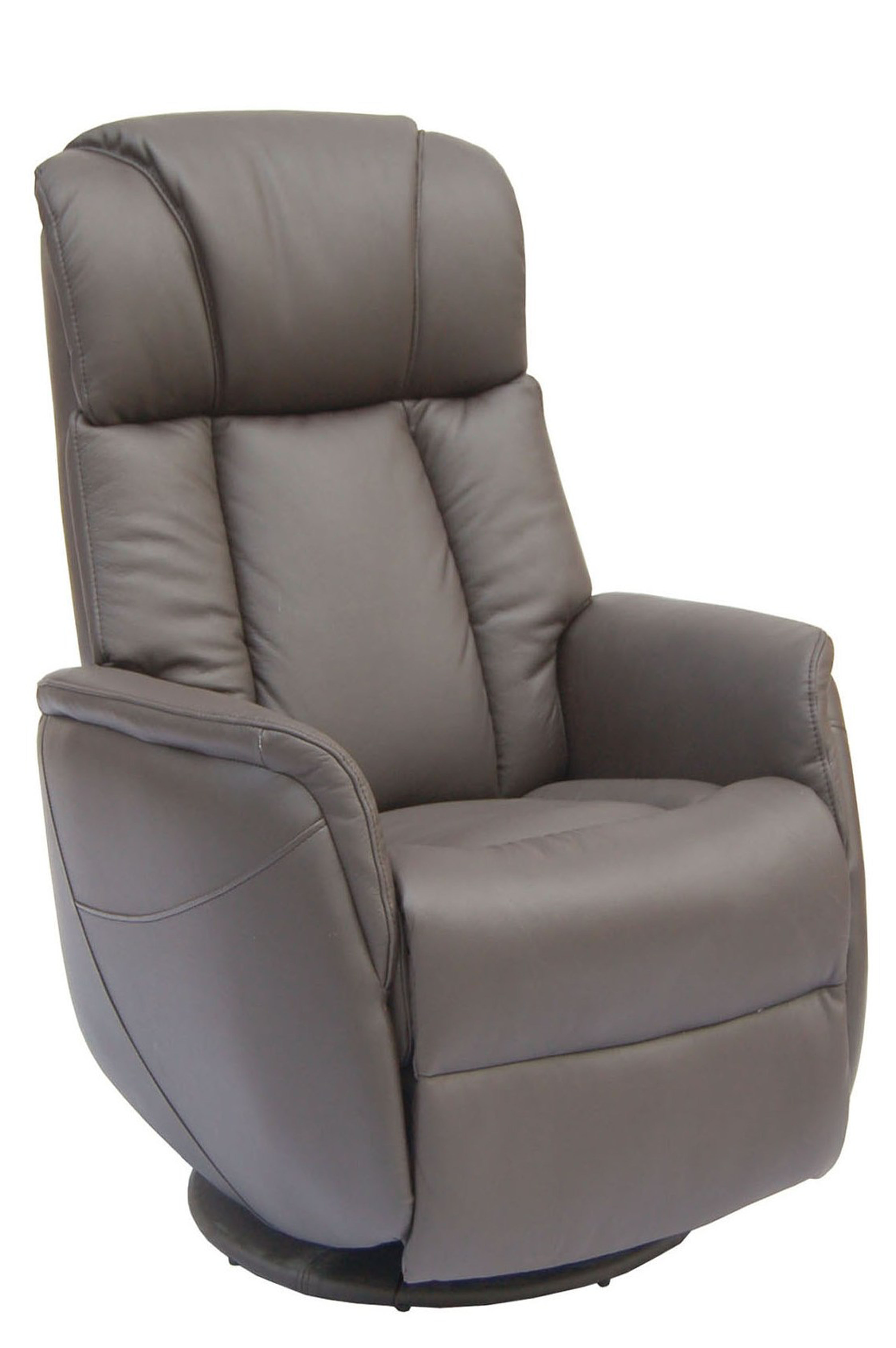 Gfa Sorrento Electric Rock & Swivel Leather Recliner Chair - Espresso for Espresso Leather Swivel Chairs