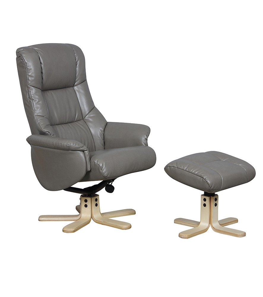Gfa Swivel Recliner Chairs | Recliner Swivel Chair | Recliners Direct In Grey Swivel Chairs (View 10 of 25)