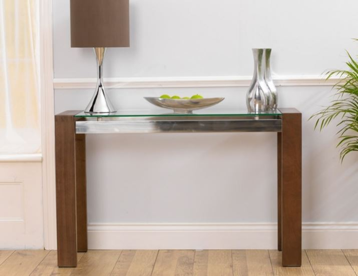 Glass Console Tables (Image 10 of 25)