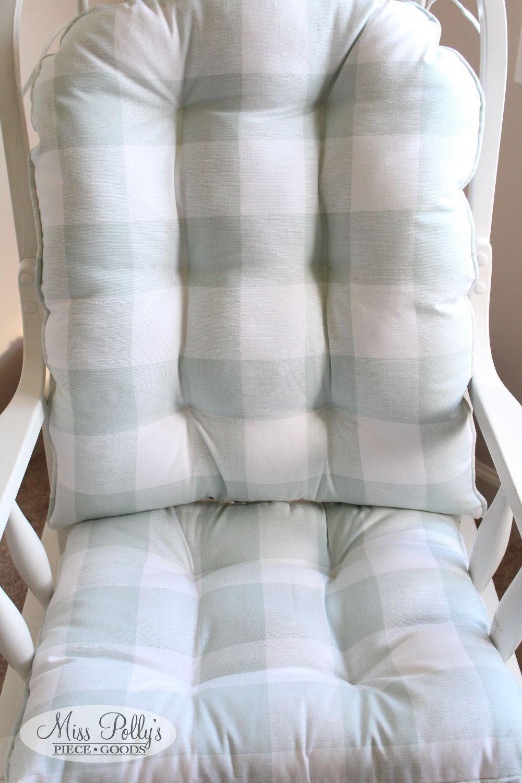 Glider Cushions – Rocker Cushions – Chair Cushions – Glider Inside Katrina Grey Swivel Glider Chairs (View 14 of 25)