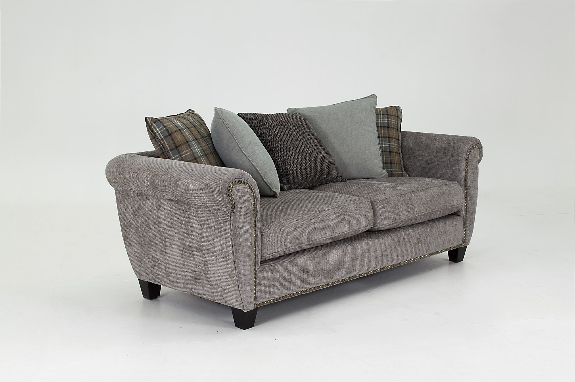 Grace 3 Seater Fixed – Ash – Larry O'keeffe Furniture With Regard To Grace Sofa Chairs (Image 10 of 25)