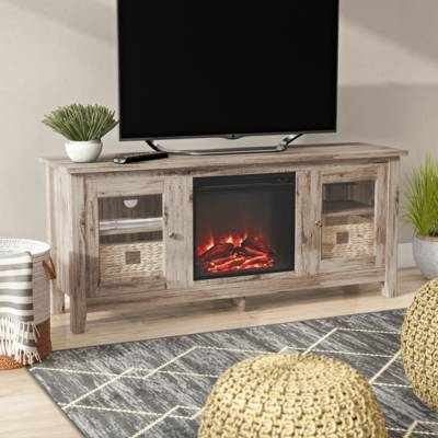 "Gracie Oaks Liu Tv Stand For Tvs Up To 60"" & Reviews (View 23 of 25)"