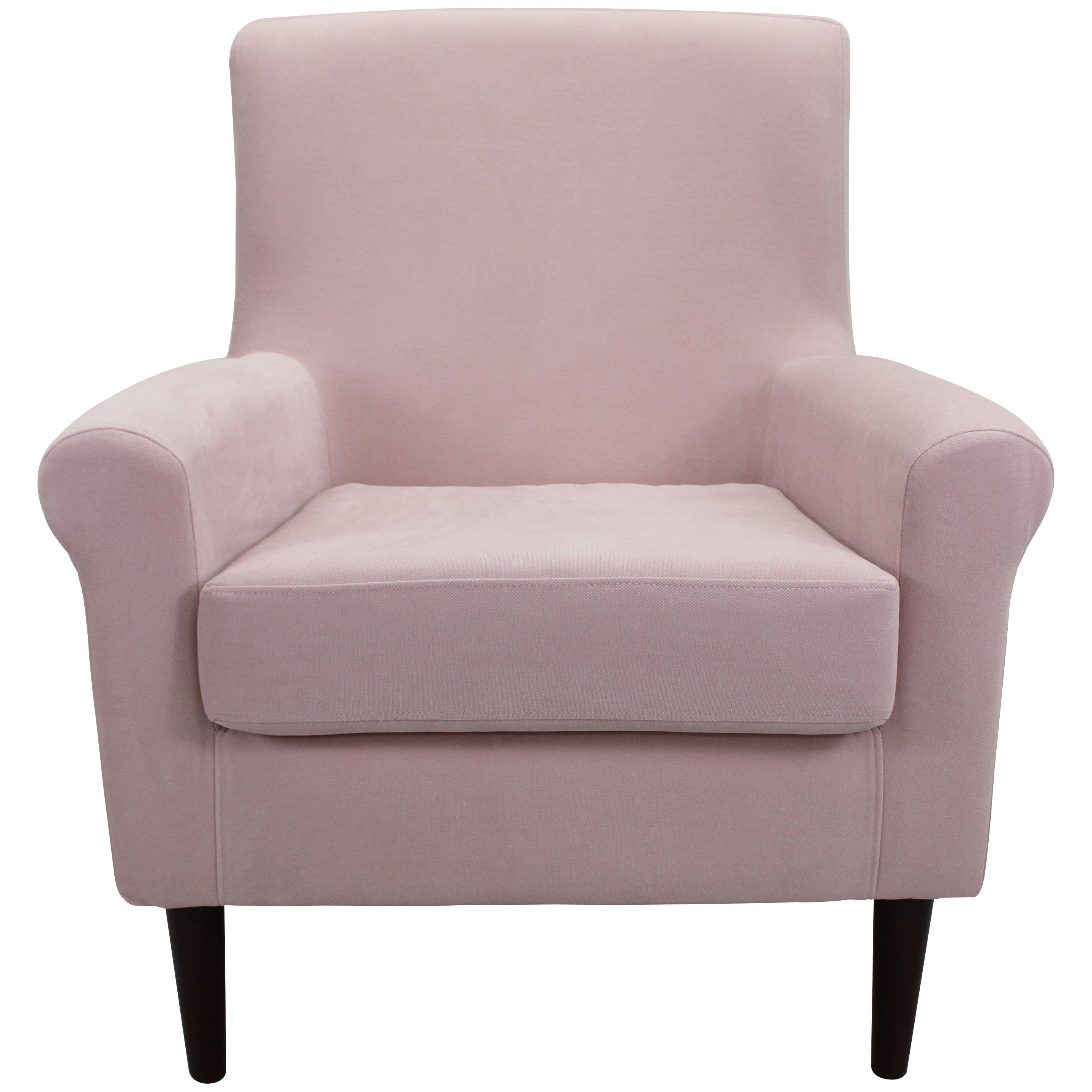 Gracie Oaks Ponce Armchair & Reviews | Wayfair Intended For Bailey Angled Track Arm Swivel Gliders (Image 13 of 25)