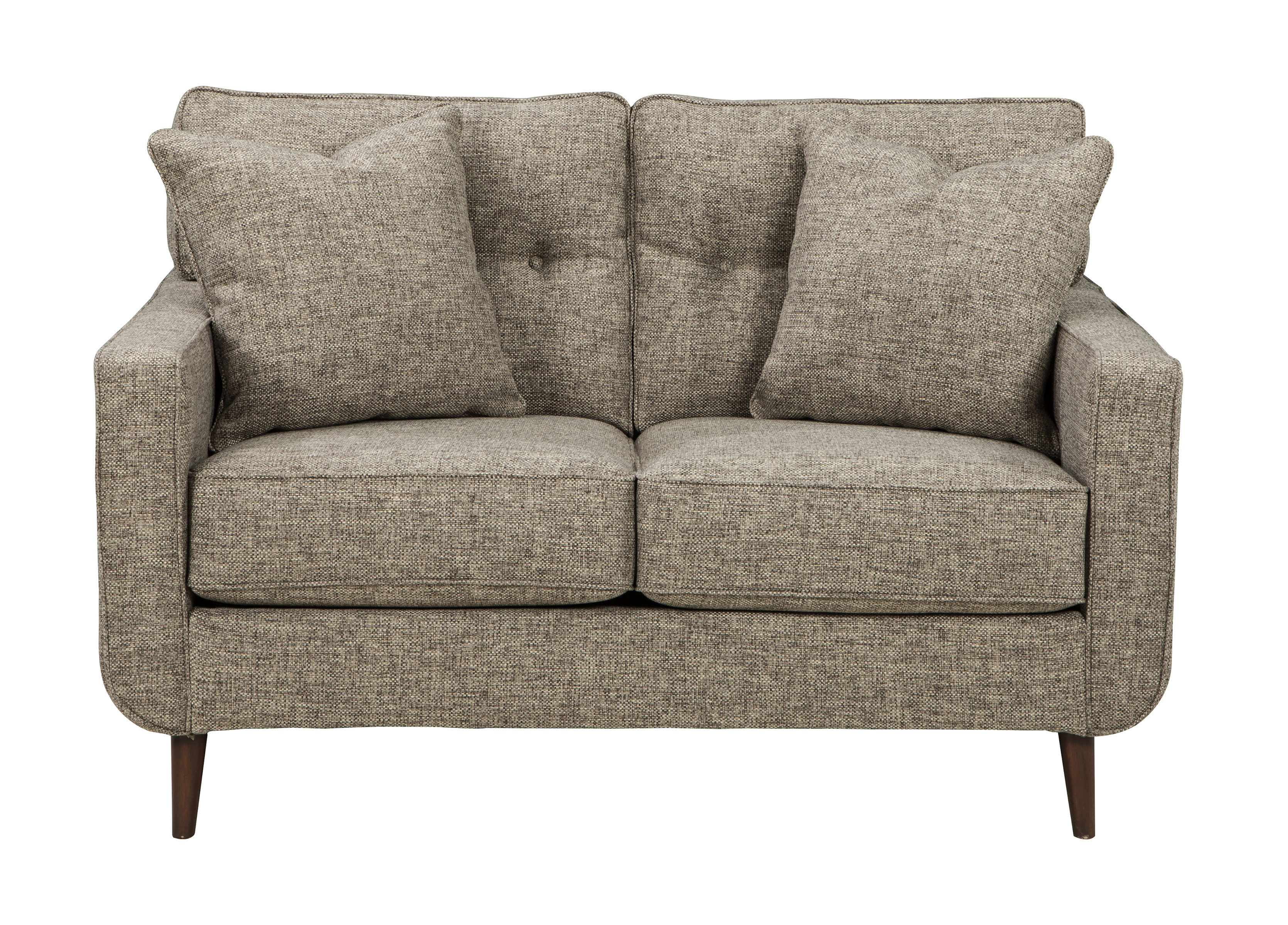 Grandin Loveseat | Allmodern regarding Grandin Leather Sofa Chairs