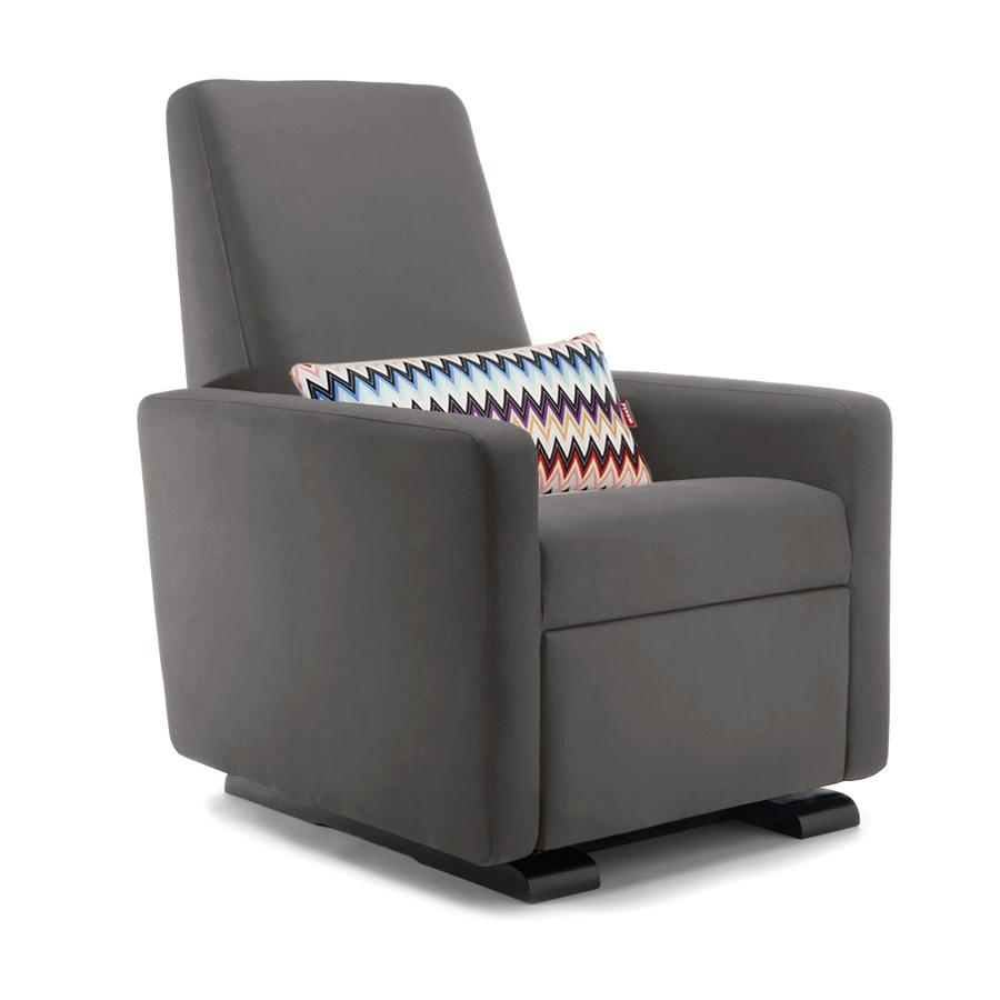 Grano Glider Recliner Chairmonte Design | Modern Nursery Gliders For Franco Iii Fabric Swivel Rocker Recliners (View 6 of 25)