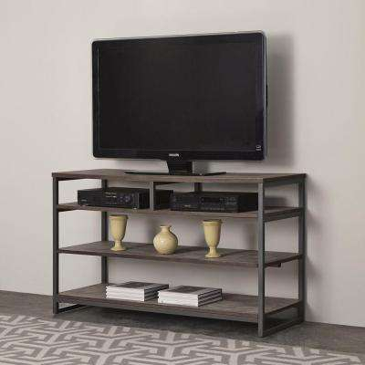 Gray – Tv Stands – Living Room Furniture – The Home Depot In 2018 Kenzie 72 Inch Open Display Tv Stands (Image 7 of 25)