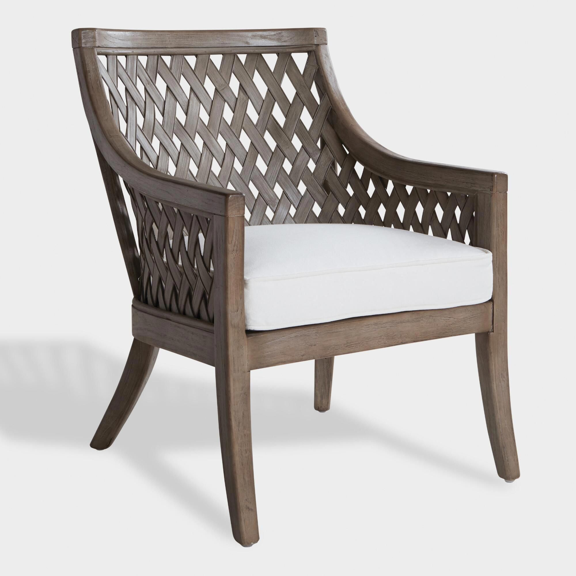 Graywashed Wood And Rattan Starla Chairworld Market Within Cohen Foam Oversized Sofa Chairs (View 21 of 25)
